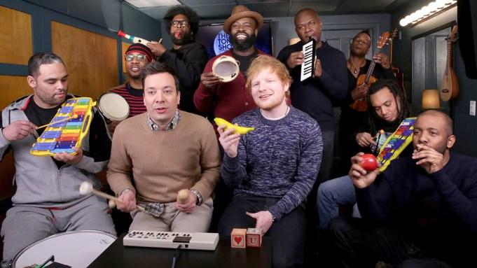 Ed Sheeran Jimmy Fallon
