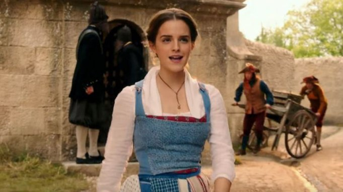 Emma Watson Belle Beauty and the