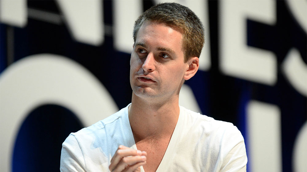 Snapchat CEO Evan Spiegel Zings Facebook on Privacy, Russian Interference