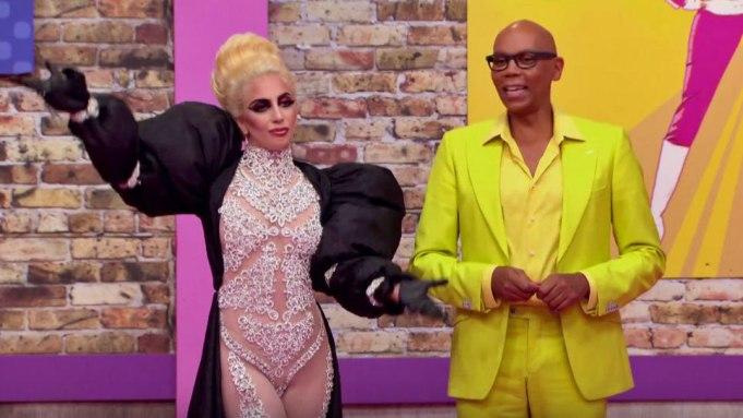 Lady Gaga RuPaul's Drag Race RuPaul