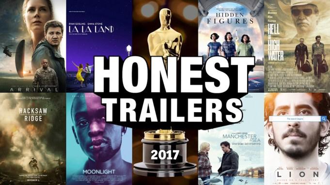 Oscar Honest Trailers