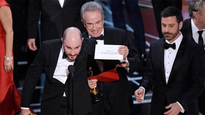 Jimmy Kimmel Oscars flub reaction