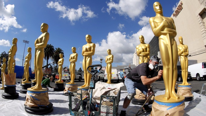 Academy Awards preparation 2017