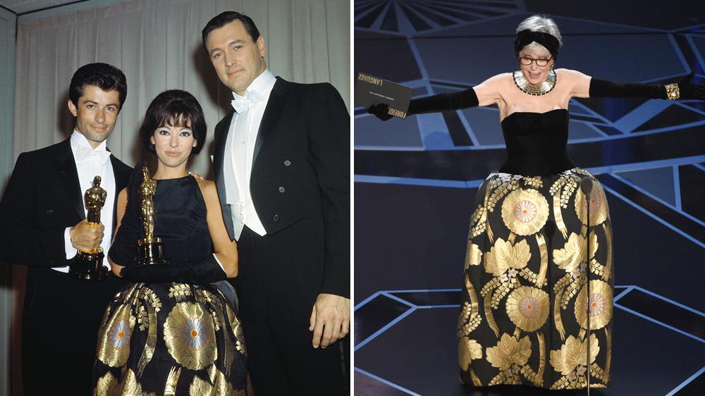 Rita Moreno Oscars Dress