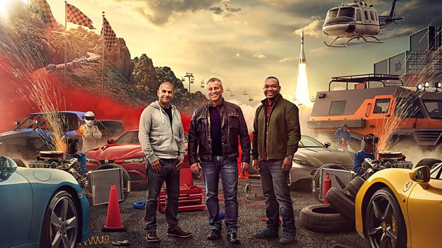 'Top Gear' Co-Hosts Matt LeBlanc, Rory