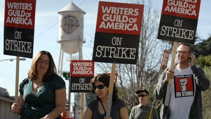 Writers Guild strike