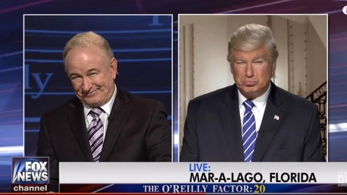 Alec Baldwin Billy O'Reilly Donald Trump