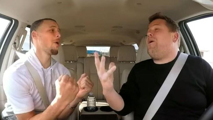 Steph Curry Carpool Karaoke