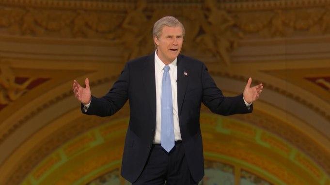 Will Ferrell as George W Bush