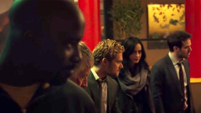 'Defenders': Marvel Series Makes Debut Comic-Con