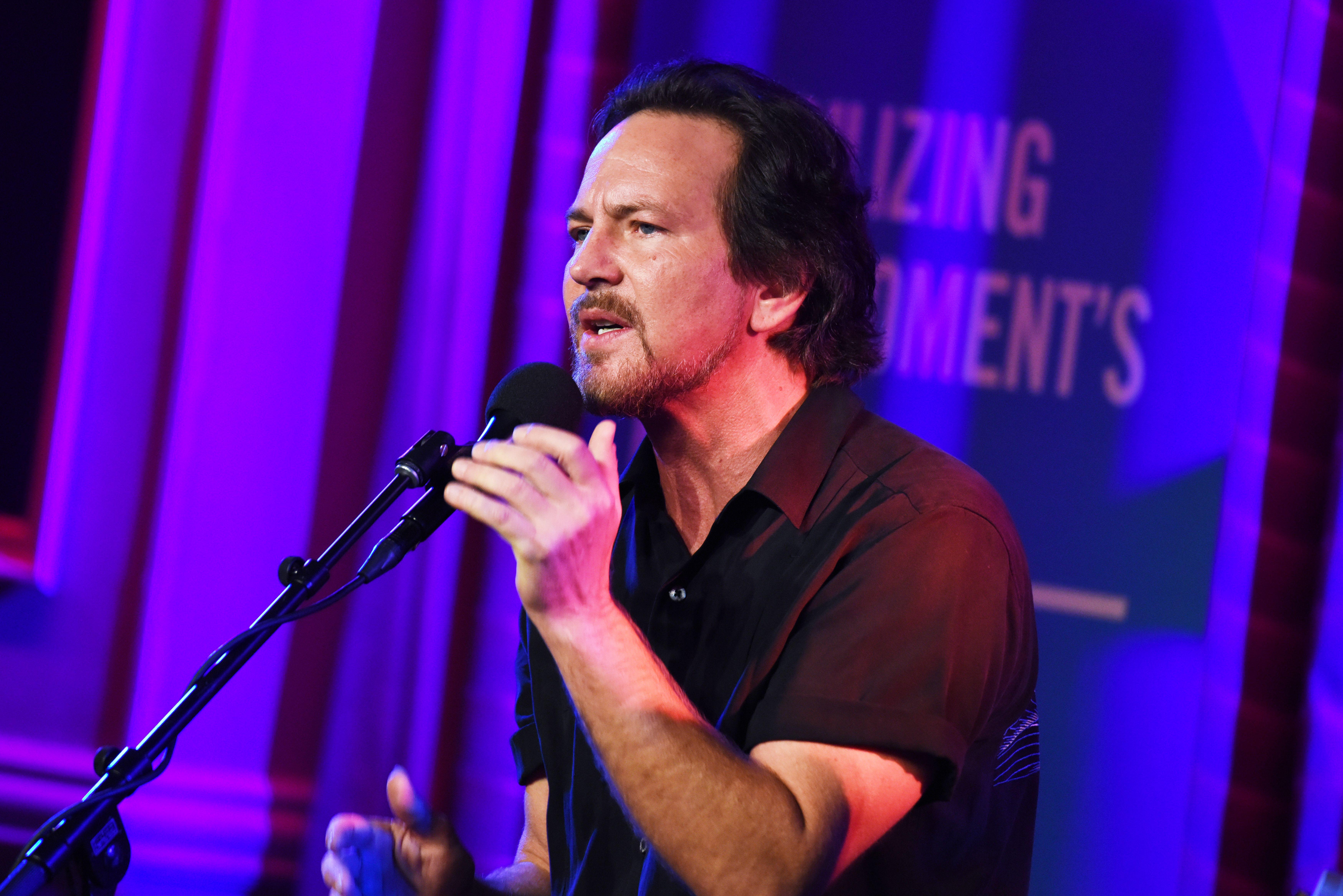 Eddie Vedder UJA-Federation of New York's Music Visionary of the Year Award Luncheon, Inside, New York, USA - 14 Jun 2017