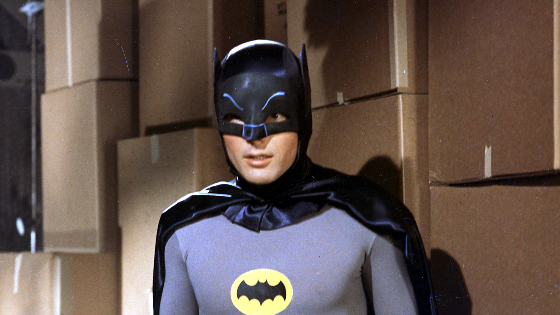 Holy Best Batman list, Robin, it's a picture of Adam West.