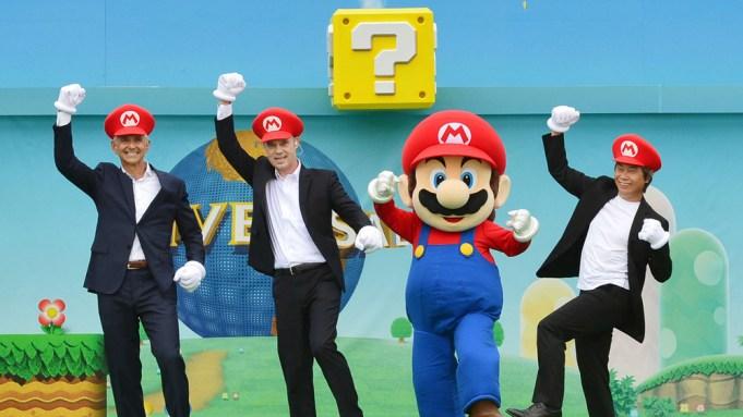 Universal Studios Japan Mario