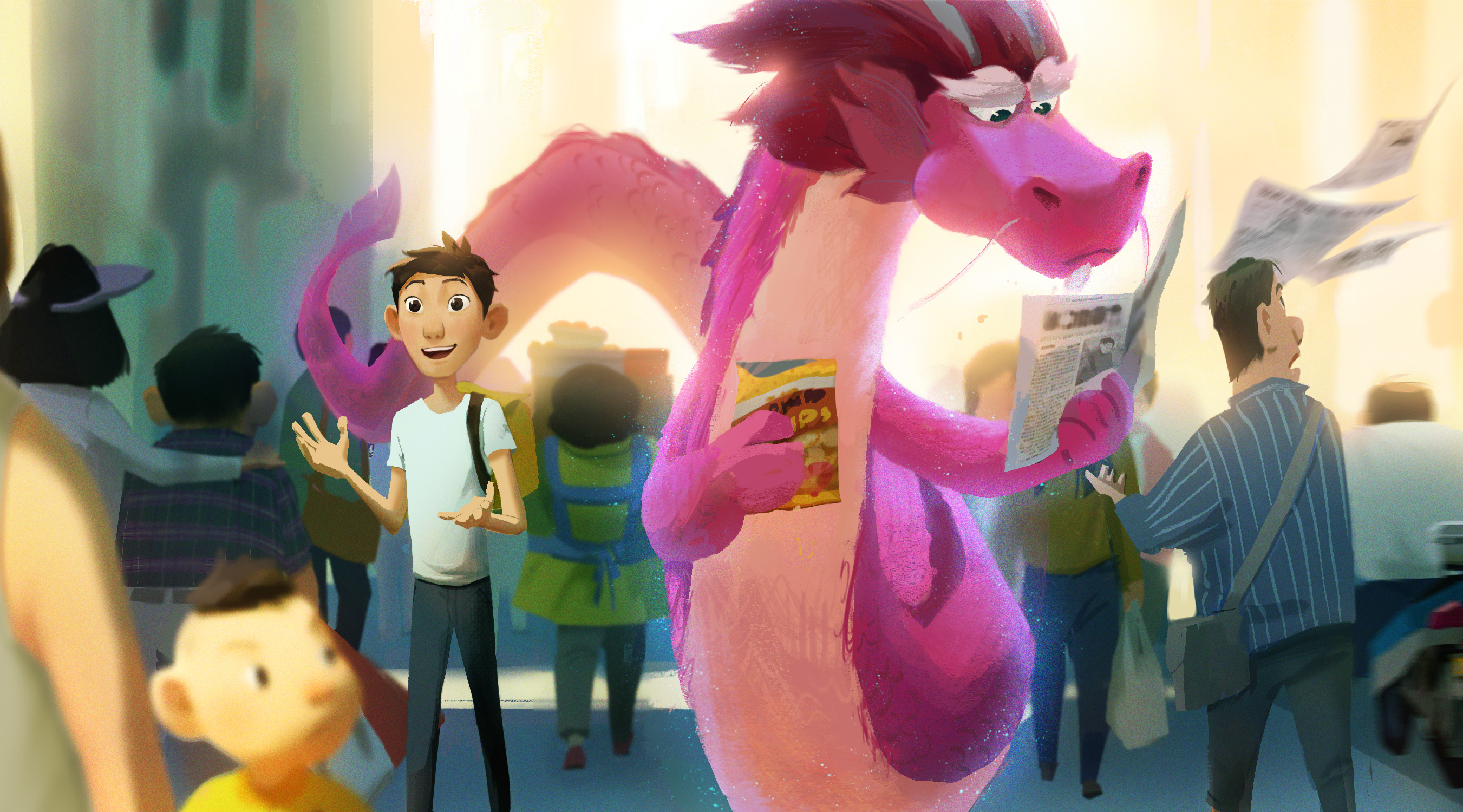 """Annecy: Base FX's """"Wish Dragon"""" Picks Up Where Dreamworks Left Off - Variety"""