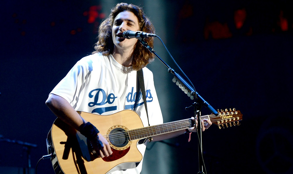 LOS ANGELES, CA - JULY 15: Deacon Frey of The Eagles performs onstage during The Classic West at Dodger Stadium on July 15, 2017 in Los Angeles, California. (Photo by Kevin Mazur/Getty Images for Scoop Marketing)