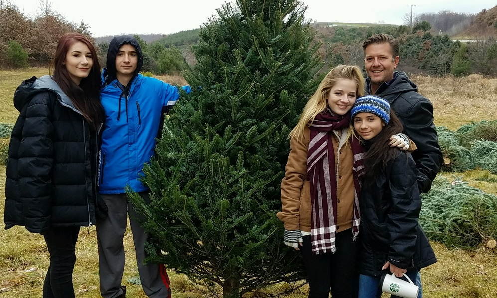 Jackie Evancho and Family
