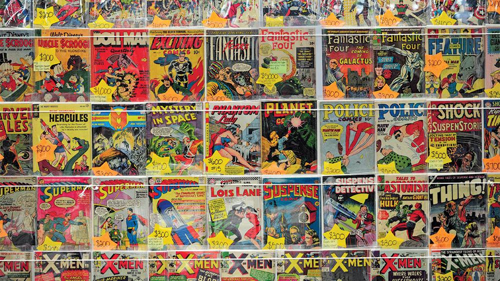 Comic Books Considered for New Media Interpretation