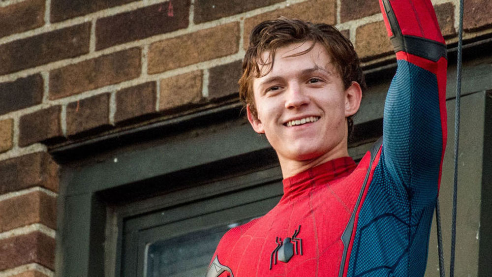 """Tom Holland as Spider-Man in """"Spider-Man: Homecoming"""" (2021)"""