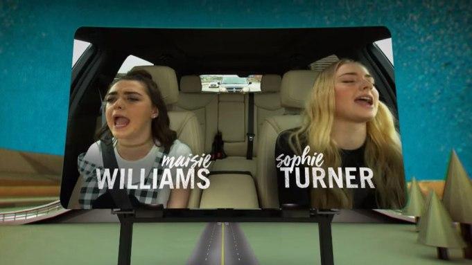 Carpool Karaoke Game of Thrones Maisie