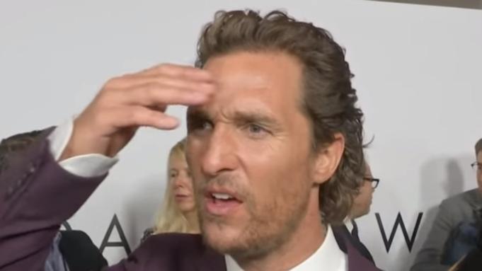Matthew McConaughey Reacts to Sam Shepard