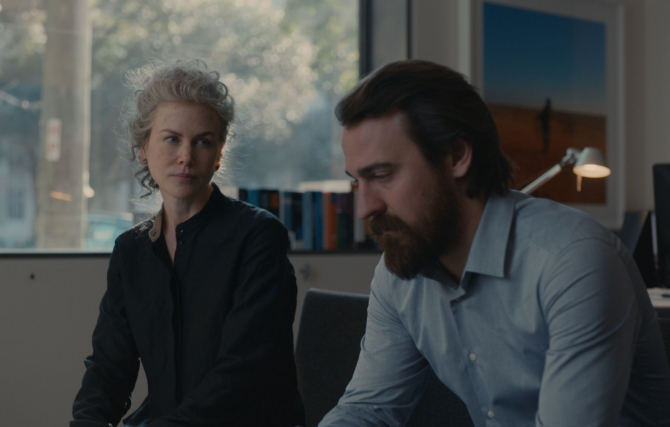 Nicole Kidman as Julia, Ewen Leslie as Pyke - Top Of The Lake: China Girl _ Season 2, Episode 2 - Photo Credit: SundanceTV/See-Saw Films