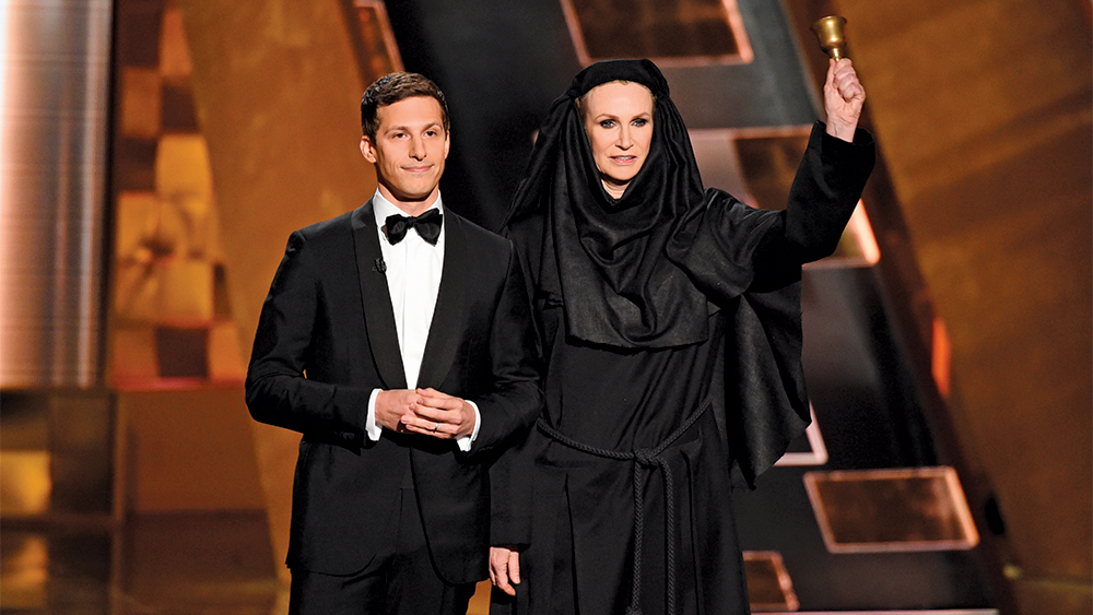 Emmys: Andy Samberg, Neil Patrick Harris and Jane Lynch Share Their Recipes for Hosting Success