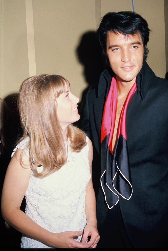 Ann Moses and Elvis Presley