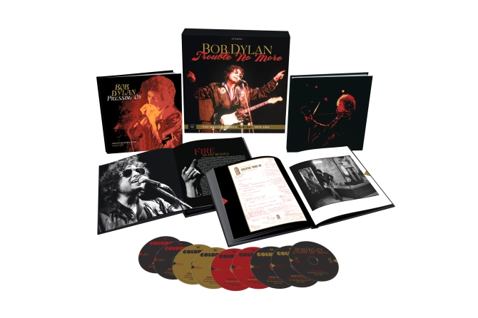 """Bob Dylan's 9-disc """"Trouble No More"""" boxed set"""