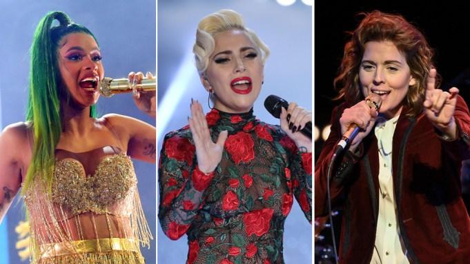 Cardi B Lady Gaga Brandi Carlile
