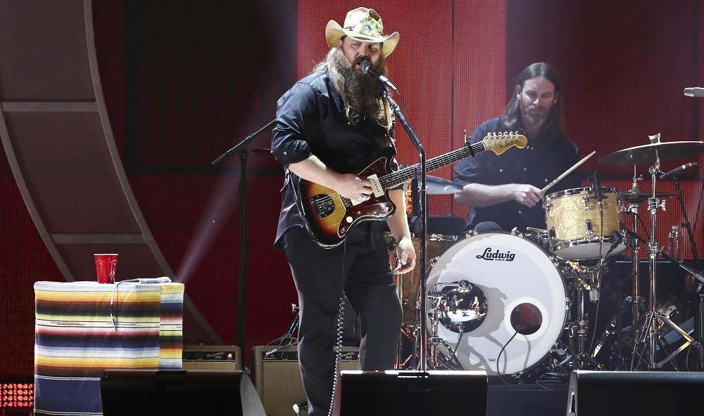 Chris Stapleton performs at the 2017 iHeartRadio Music Festival Day 1 held at T-Mobile Arena, in Las Vegas 2017 iHeartRadio Music Festival - Day 1, Las Vegas, USA - 22 Sep 2017