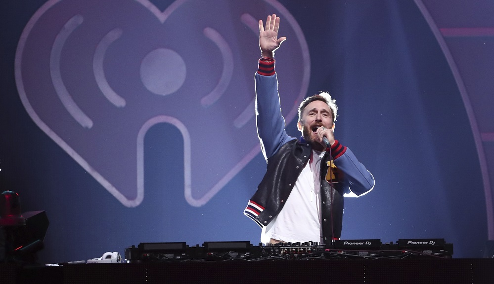 David Guetta performs at the 2017 iHeartRadio Music Festival Day 1 held at T-Mobile Arena, in Las Vegas 2017 iHeartRadio Music Festival - Day 1, Las Vegas, USA - 22 Sep 2017