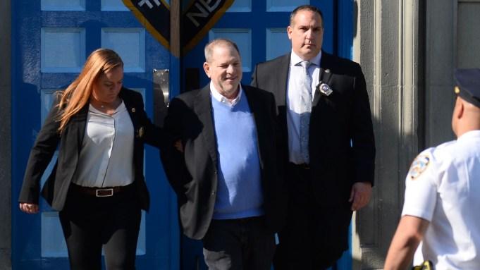 Harvey Weinstein arrested
