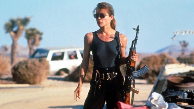 Linda Hamilton Terminator 2: Judgment Day