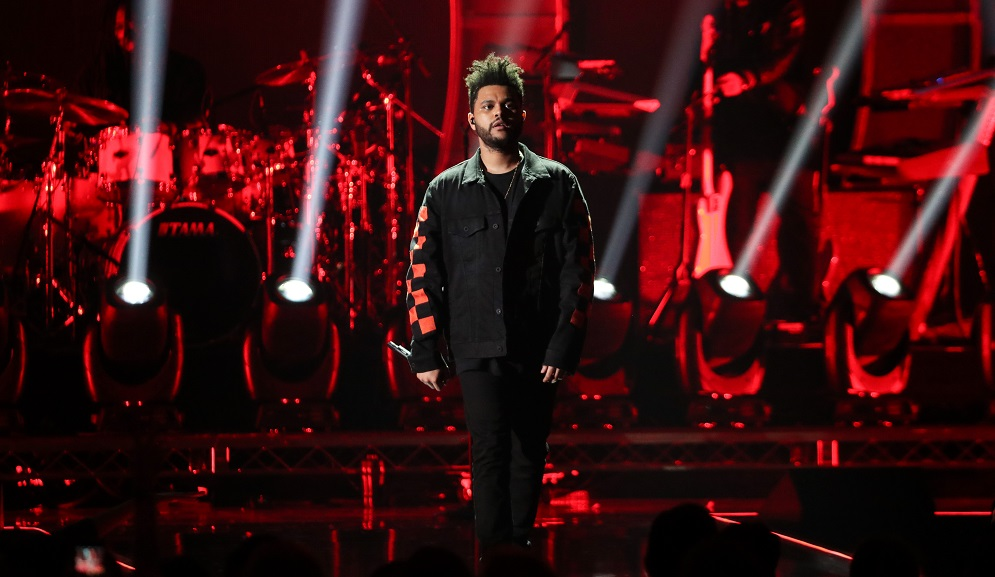 The Weeknd iHeart Radio Festival, Show, Day 1, Las Vegas, USA - 22 Sep 2017