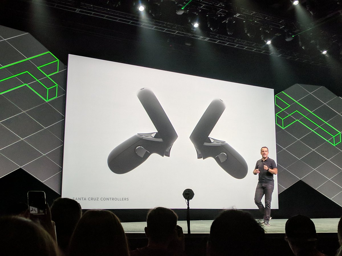 Oculus Santa Cruz controllers