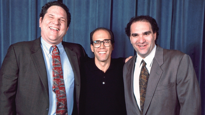 Harvey Weinstein Young 80s