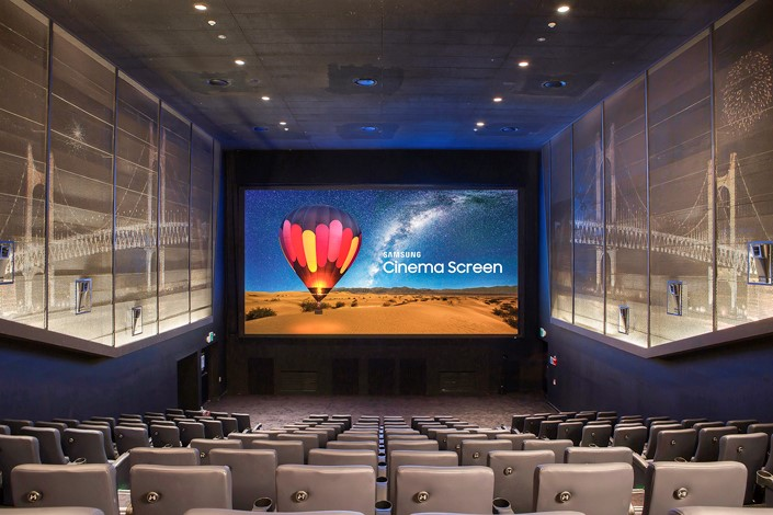 Samsung LED Cinema Tech Sold to Thailand's Major Cineplex
