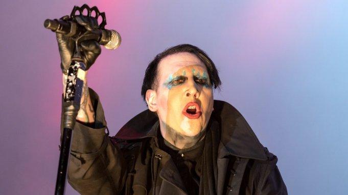 Marilyn MansonMetaldays festival, Tolmin, Slovenia - 24 Jul 2017