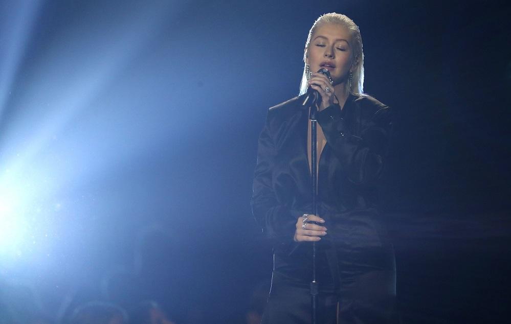 Christina AguileraAmerican Music Awards, Show, Los Angeles, USA - 19 Nov 2017