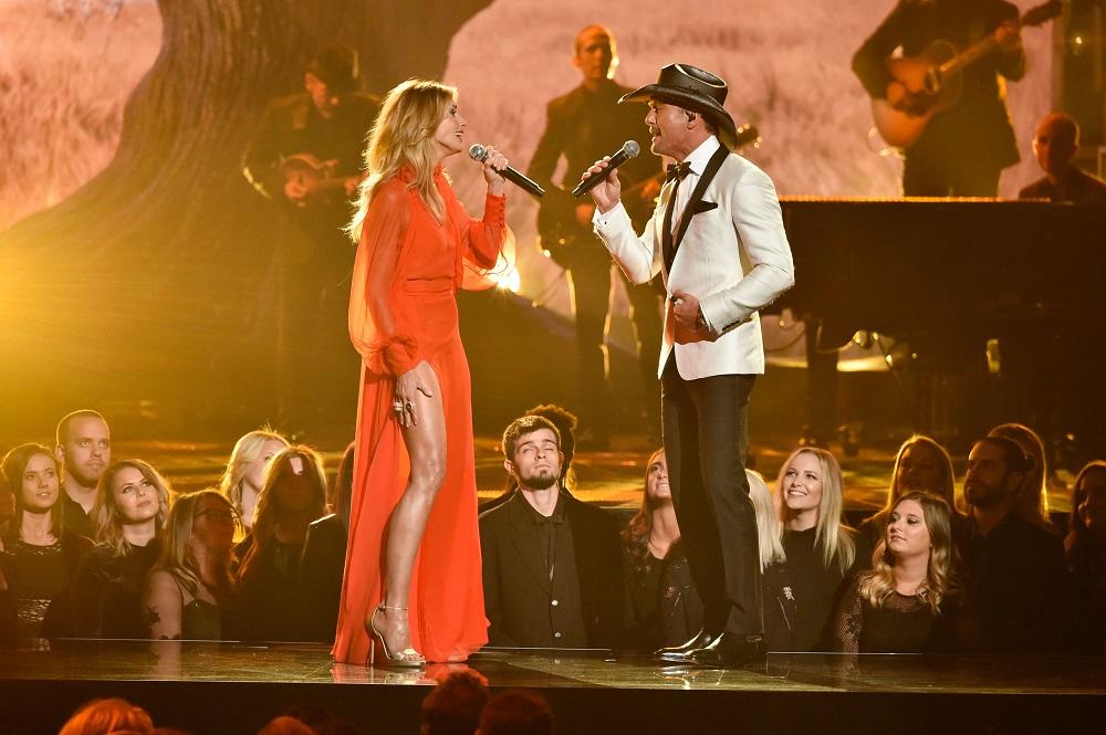 Faith Hill, Tim McGraw51st Annual CMA Awards, Show, Nashville, USA - 08 Nov 2017