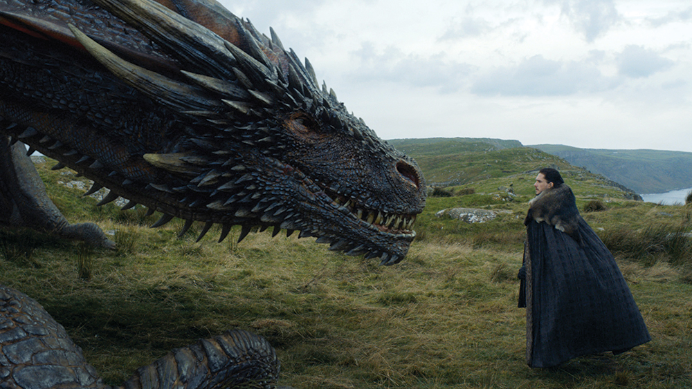 Game of Thrones Dragon Special Effects