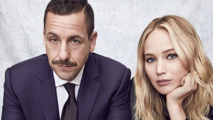 Jennifer Lawrence Adam Sandler Actors on