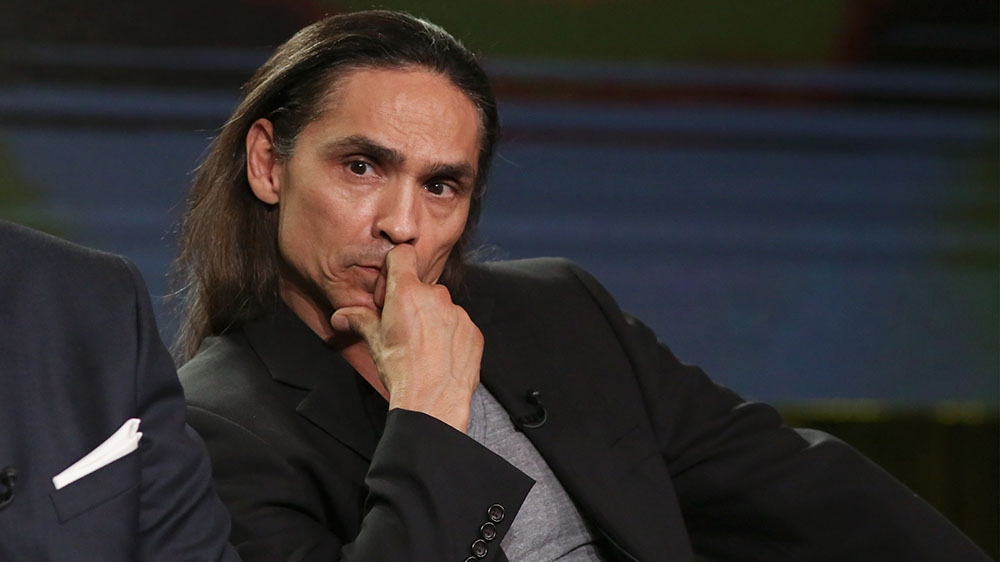 Zahn McClarnon Hospitalized for Head Injury; 'Westworld' Paused - Variety