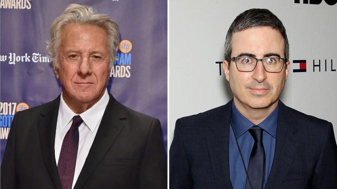 John Oliver Regrets Dustin Hoffman Confrontation: