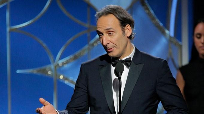 alexandre desplat Golden Globes Win