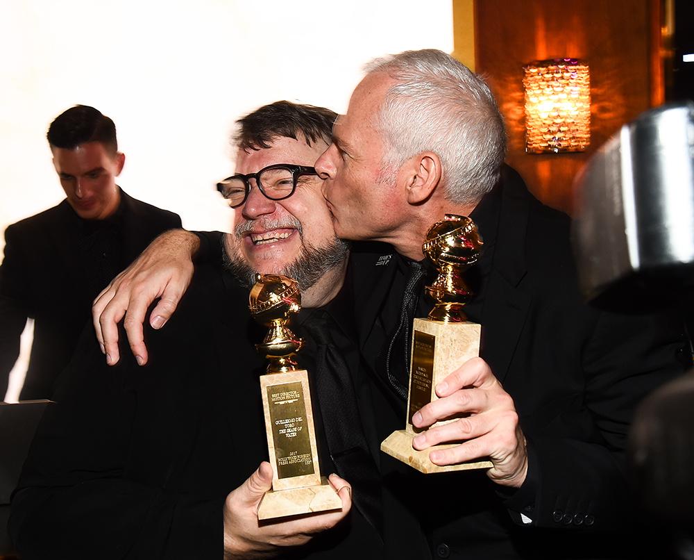 Guillermo Del Toro and Martin McDonagh