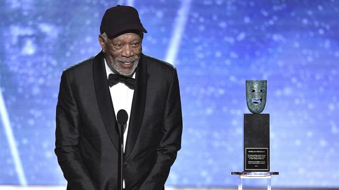 Morgan Freeman SAG Awards Win