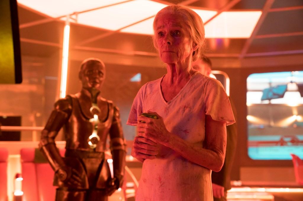 "Geraldine Chapman in ""Impossible Planet"" - Episode 103 of Philip K. Dick's Electric Dreams"