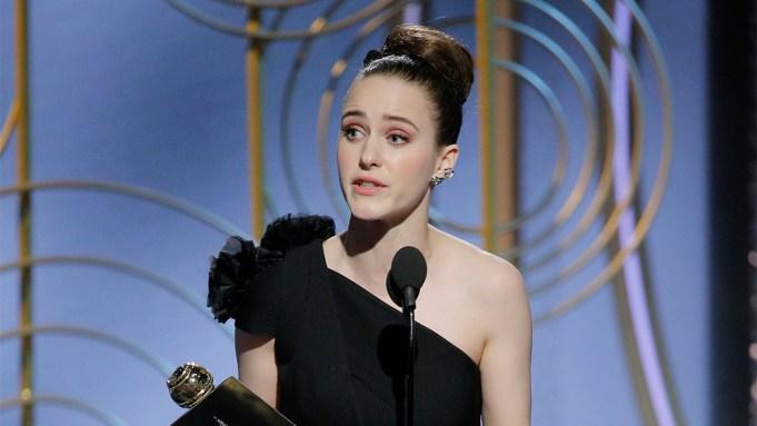 Rachel Brosnahan Golden Globes Win