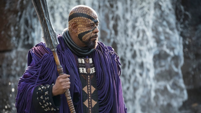 Marvel Studios' BLACK PANTHER..Zuri (Forest Whitaker)..Photo: